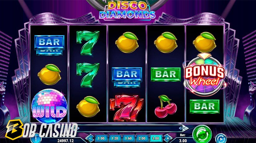 Wild Symbol in Disco Diamonds Slot