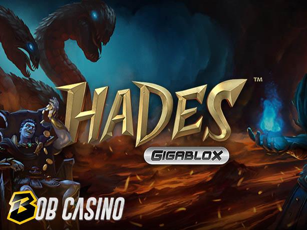 Hades Gigablox slot review on Bob Casino