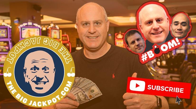 Scott Raja Richter on The Big Jackpot YouTube channel thumbnail.