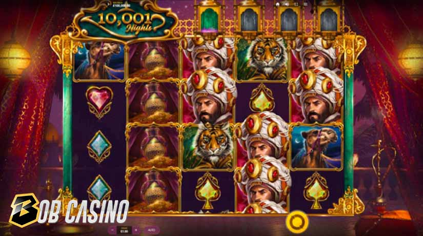 Bonus Round in 10001 Nights Slot