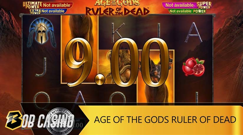Bonus Round in Age of the Gods- Ruler of the Dead