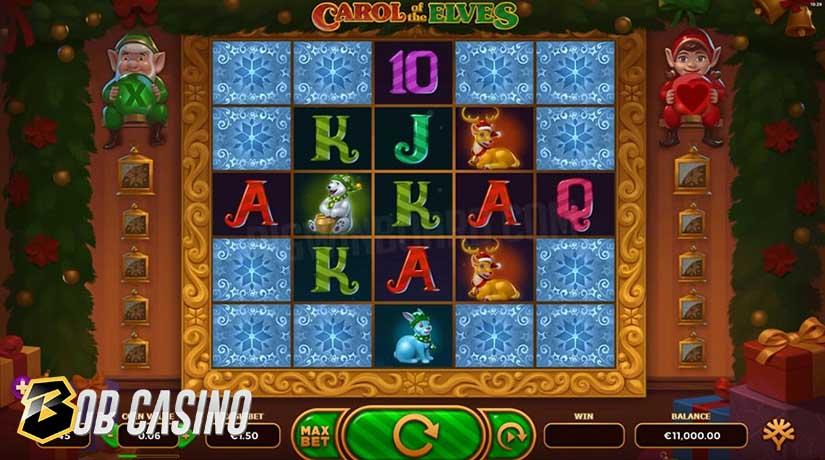 Bonus Round in Carol of the Elves Slot