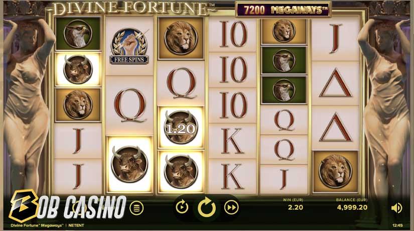 Bonus Round in Divine Fortune Megaways™ Slot