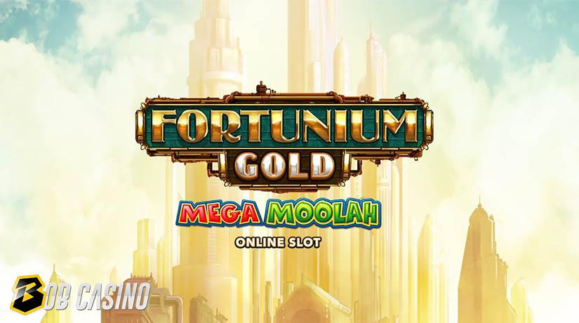 Fortunium Gold Mega Moolah slot in collaboration of Stormcraft Studios with Microgaming