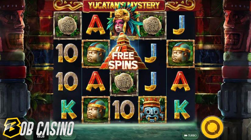Bonus Round in Yucatan's Mystery Slot