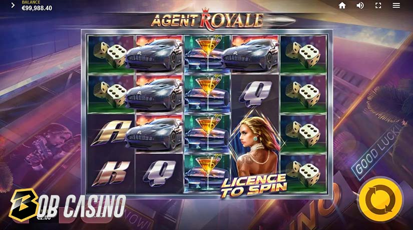 Bonus Round in Agent Royale Slot