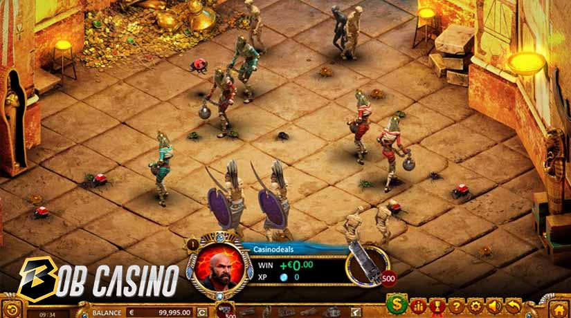 Action slot game Max Quest: Wrath of Ra