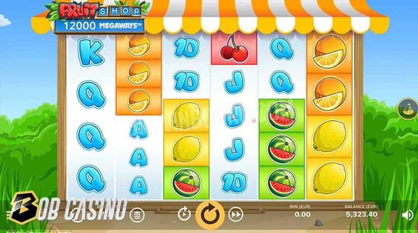 Bonus Round in Fruit Shop Slot