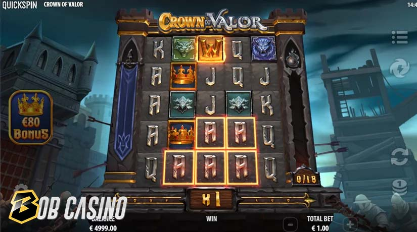Crown of Valor Bonus Round
