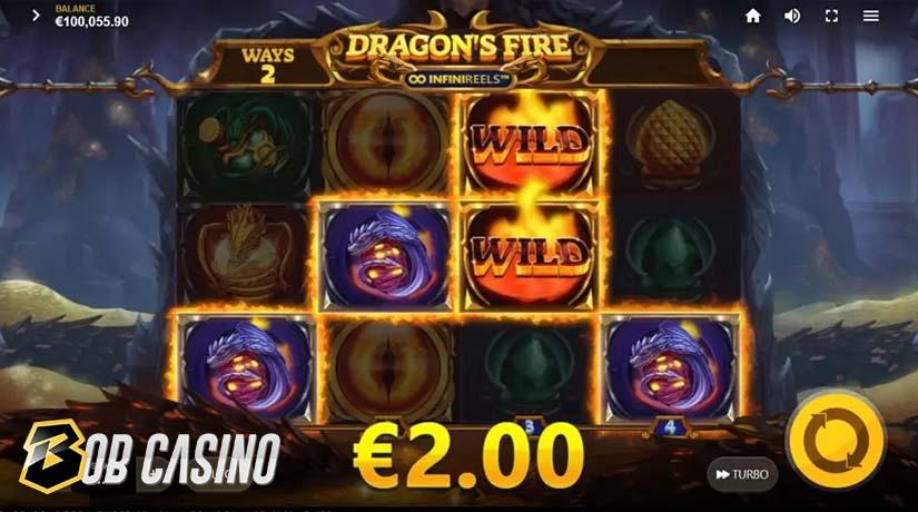 Bonus round in Dragon's Fire