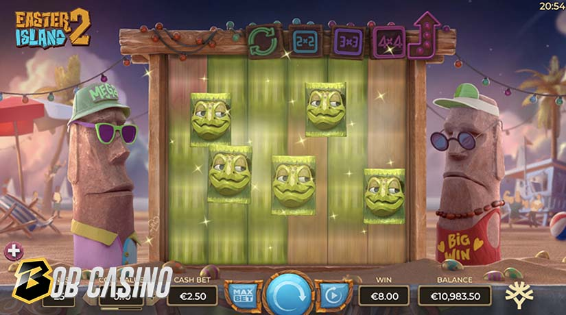 Easter Island 2 Bonus Round