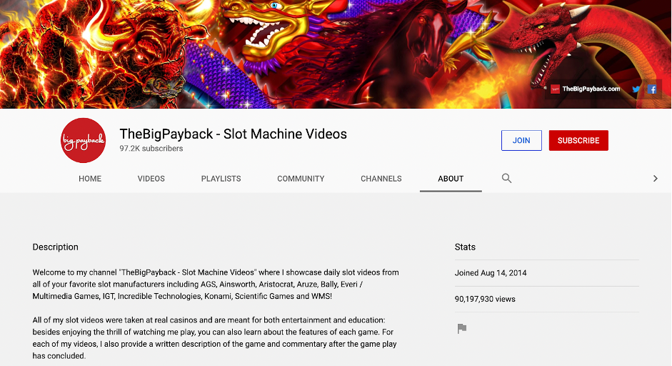 The Big Payback YouTube channel