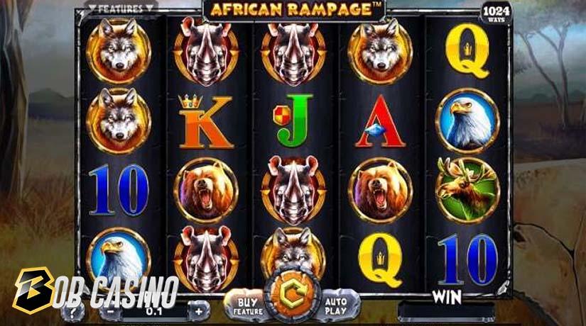 Bonus Round African Rampage