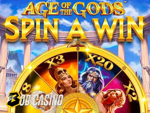 Age of the Gods: Spin A Win Slot Review