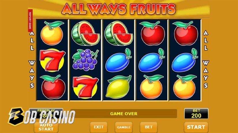 All Ways Fruits Slot from Amatic Gaming