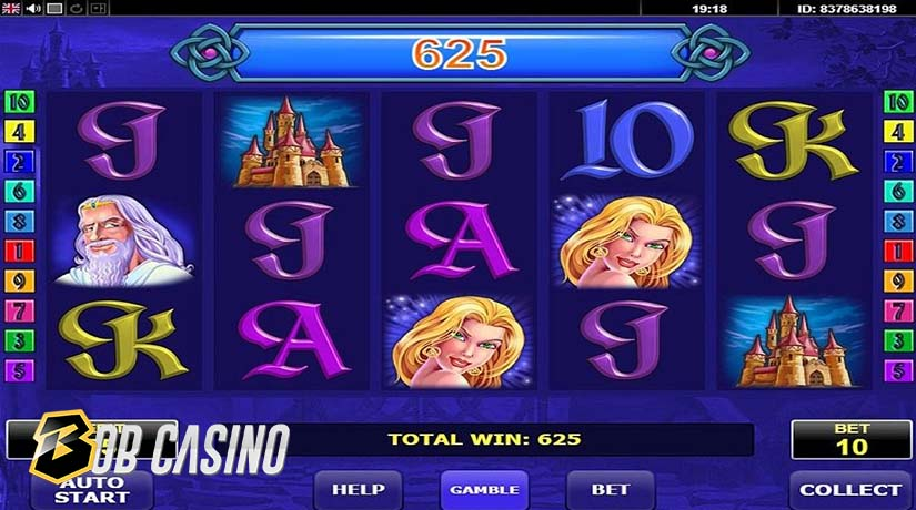 Book of Fortune slot, one of the most popular Amatic casino slots.