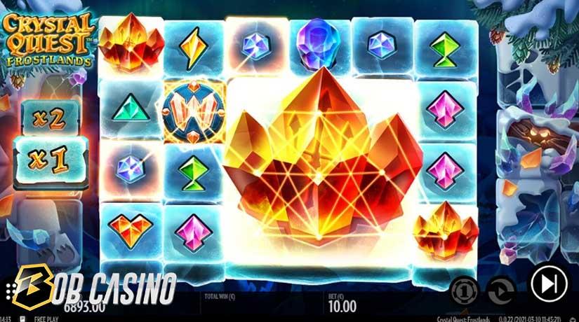 Bonus Round in Crystal Quest: Frostlands Slot