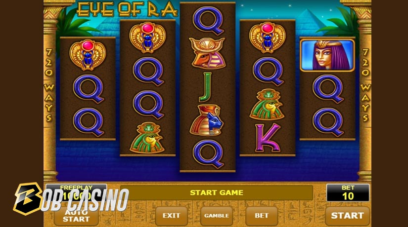 Eye of Ra slot from Amatic Industries.