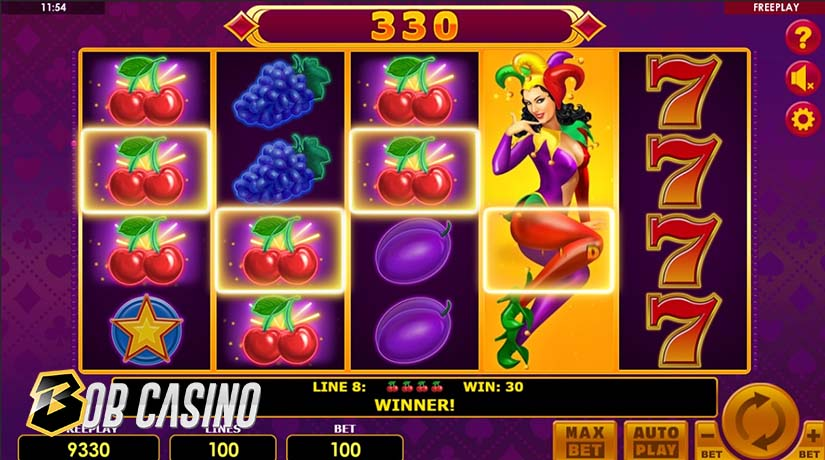 Lucky Joker 100 is one of the newest slots from Amatic Gaming.