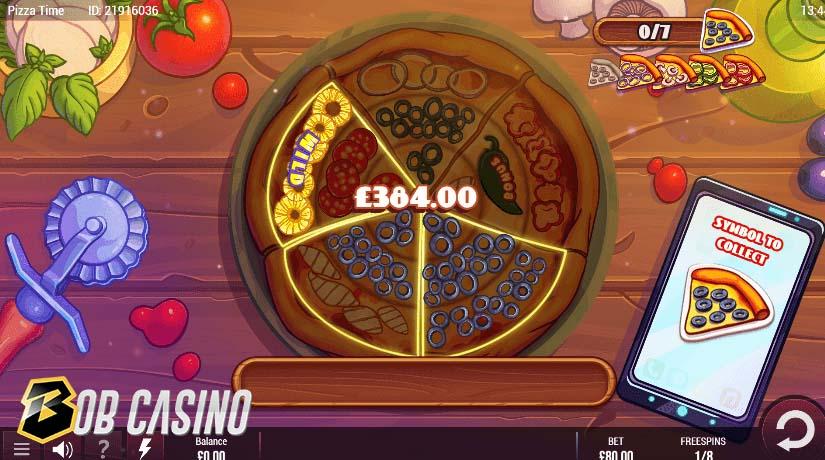 Bonus Round in Pizza Time Slot