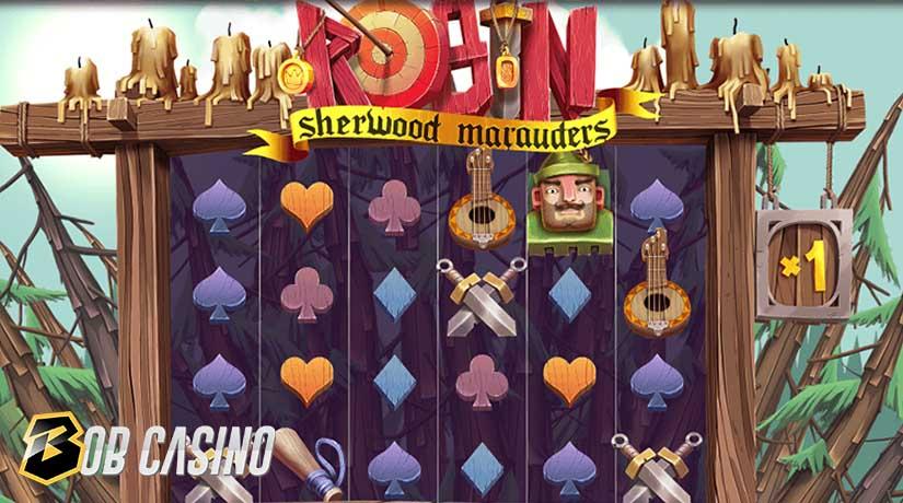 Bonus Round in Robin Sherwood Marauders Slot