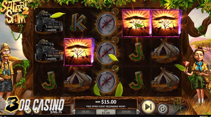 Bonus Round in Safari Sam 2 Slot