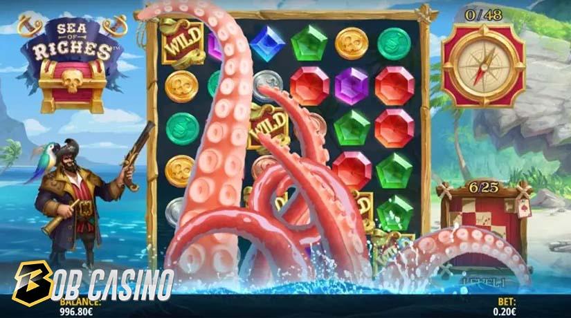 Bonus in Sea of Riches Slot