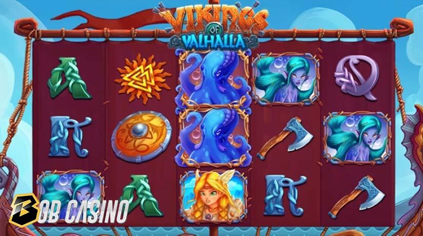 Bonus Round in Vikings of Valhalla Slot