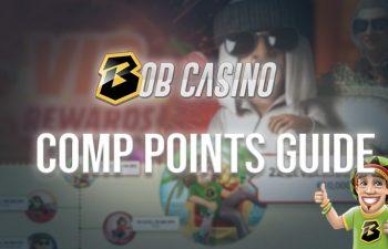 Bob Casino comp points and VIP program