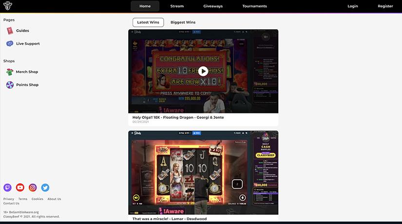 ClassyBeef Official Website