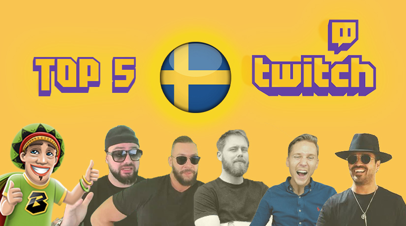 Top 5 Twitch Casino Streamers from Sweden