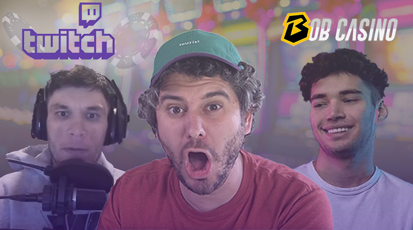 TrainwrecksTV, Adin Ross and Ethan Klein from H3H3 Twitch gambling controversy.