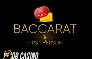 Lightning Baccarat First Person from Evolution Gaming
