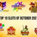 Top 10 Slots of October 2021