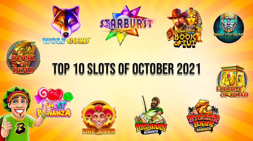 Photo of Top 10 Most Popular Slots of October 2021 [HIGH WINNING CHANCES]